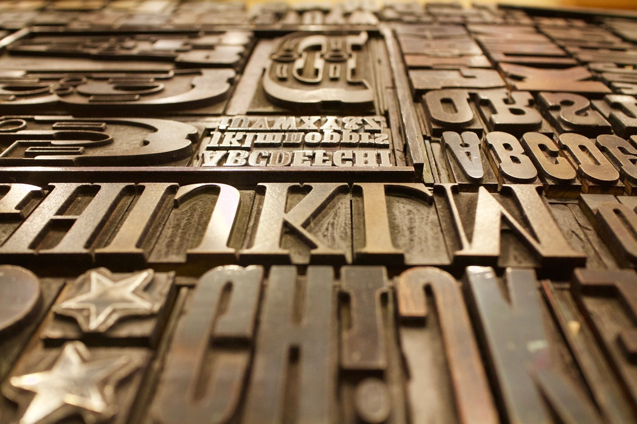 Typografia - niezbędne narzędzie prjektowe
