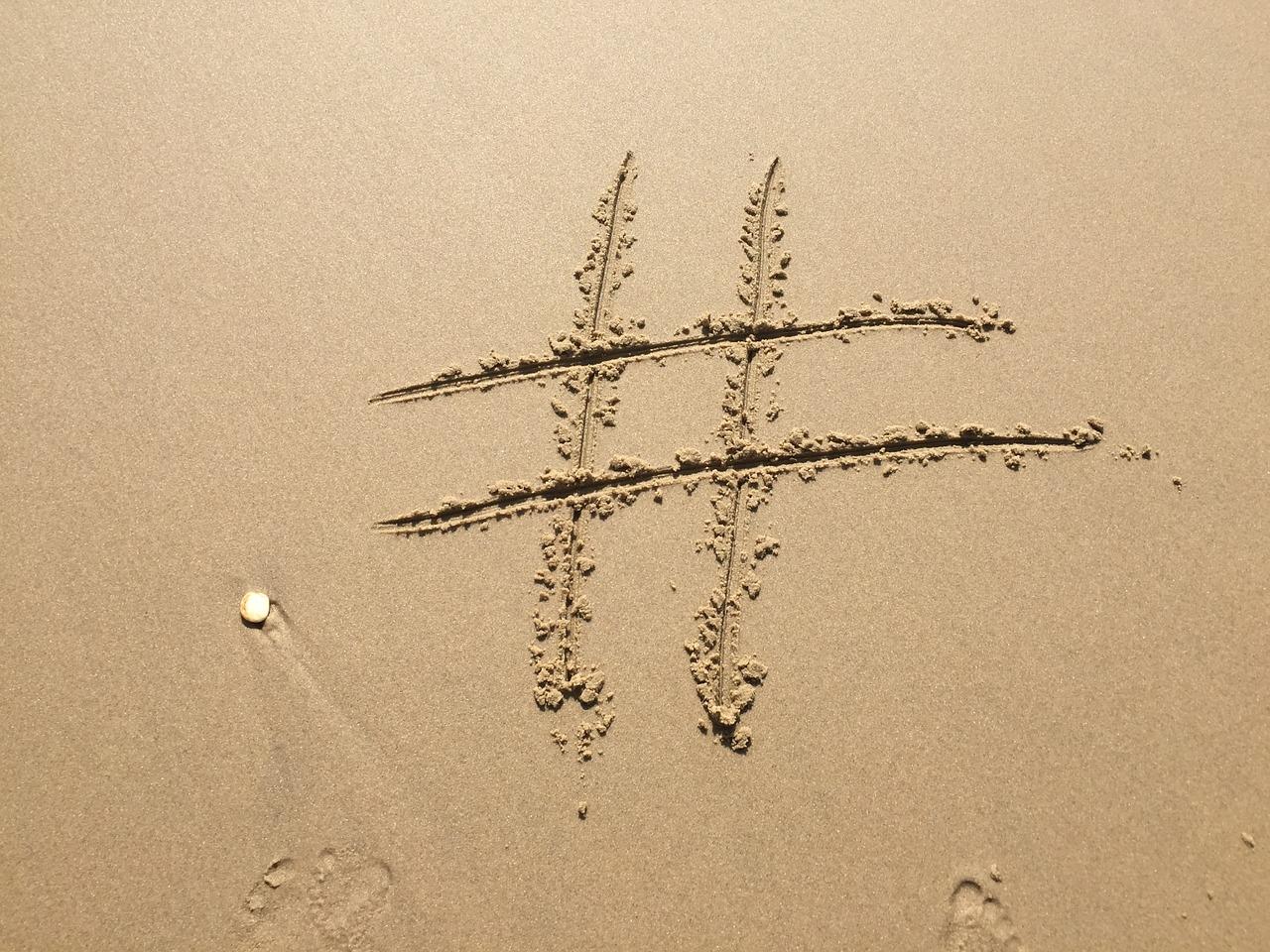 Twitter i jego moc hashatagów