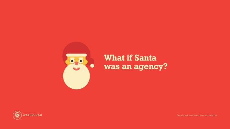 Mikołaj jako agencja reklamowa