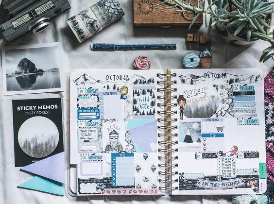 Inspiracja dla grafika – Bullet Journal