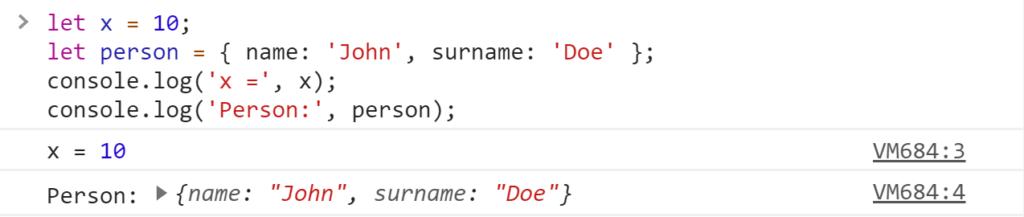Jak zostać programistą - konsola JavaScript log