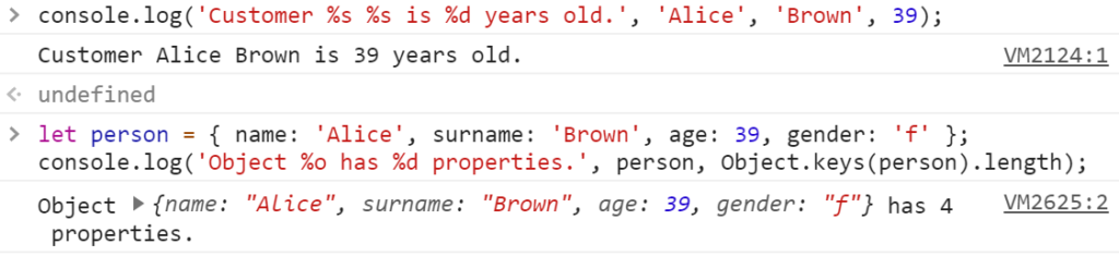 Jak zostać programistą - konsola JavaScript strings