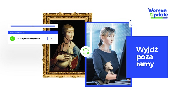 WomanUpdate - akcja dla kobiet, które chcą zmieniać branżę i zdobywać komptencje cyfrowe
