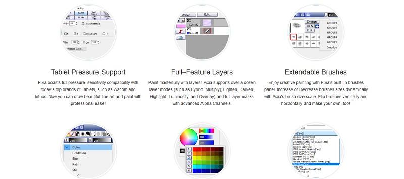 Darmowe alternatywy dla Photoshopa dla początkujących grafików - Pixia