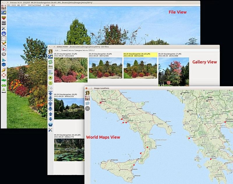 Darmowe alternatywy dla Photoshopa dla początkujących grafików - Fotoxx