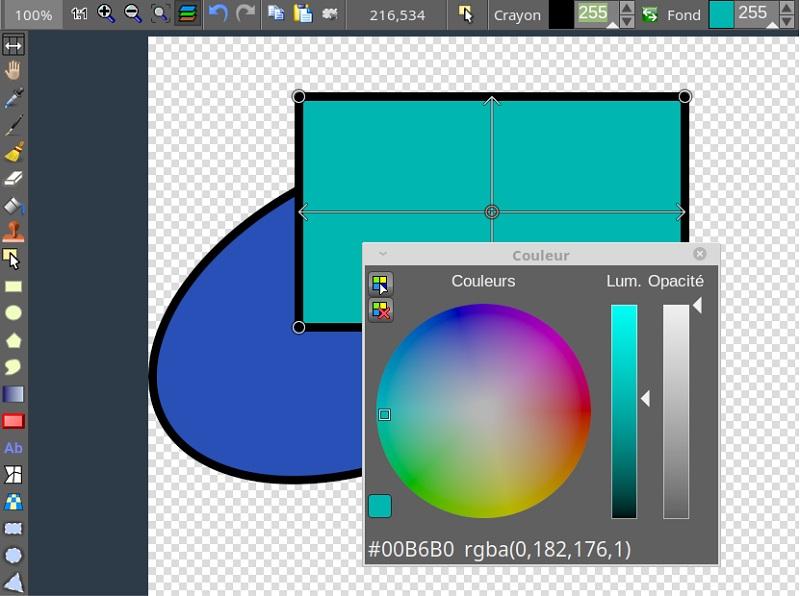 Darmowe alternatywy dla Photoshopa dla początkujących grafików - LazPaint