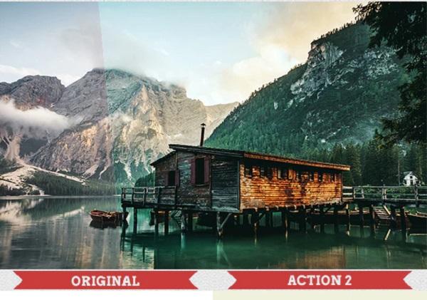 Darmowe akcje Photoshop dla początkujących grafików - 25 akctions