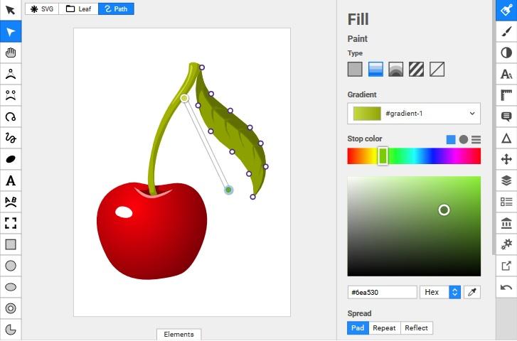Darmowe programy do obróbki grafiki wektorowej - SVG editor